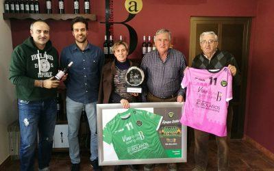 El Club BM Bolaños junto a sus patrocinadores principales