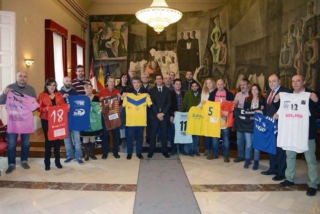 Club Balonmano Bolaños milita en categoria nacional