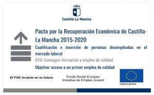 Pacto por la recuperación ecoónomica de Castila La Mancha 2015-2020